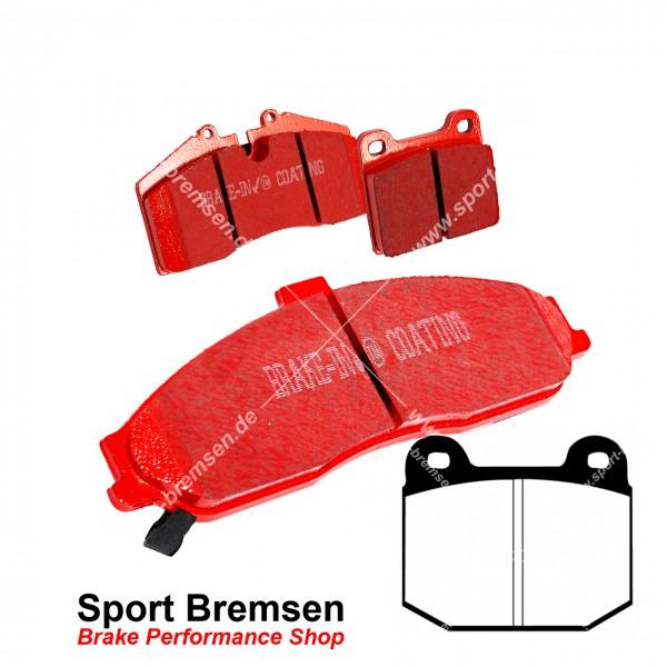 EBC Redstuff Keramik Bremsbeläge für Opel Speedster 2.0 Turbo vorne