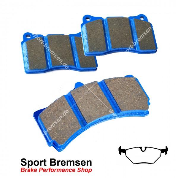 EBC Racing Bluestuff NDX Bremsbeläge für BMW 3er 320i (e46) hinten