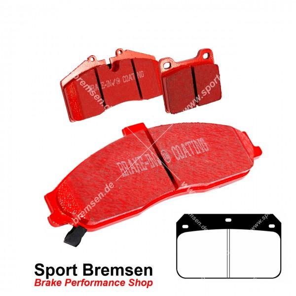 EBC Redstuff Keramik Bremsbeläge für Wilwood Bremssattel Dynalite Cotter Pin