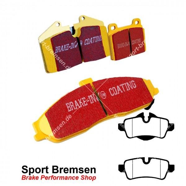 EBC Yellowstuff Bremsbeläge für Mini John Cooper Works (R56) 141-155kW hinten