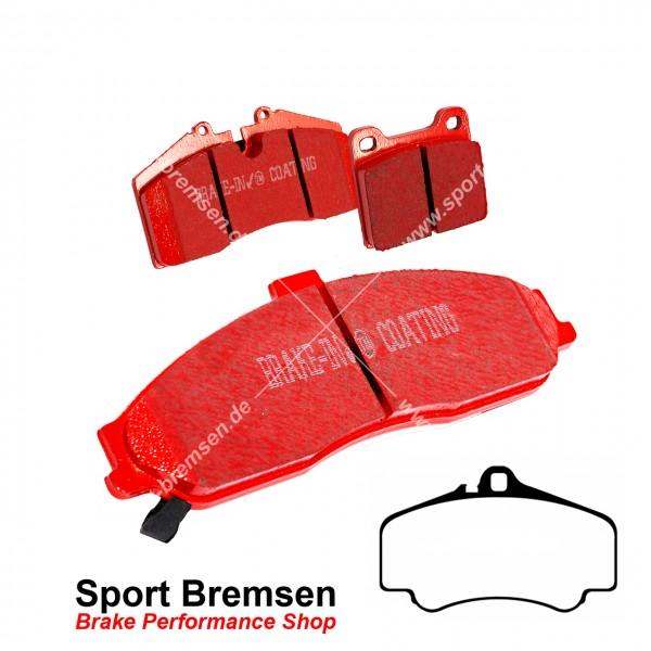 EBC Redstuff Keramik Bremsbeläge für Porsche 911 (997) 3.8S 4S 99635194912 99735194902 vorne