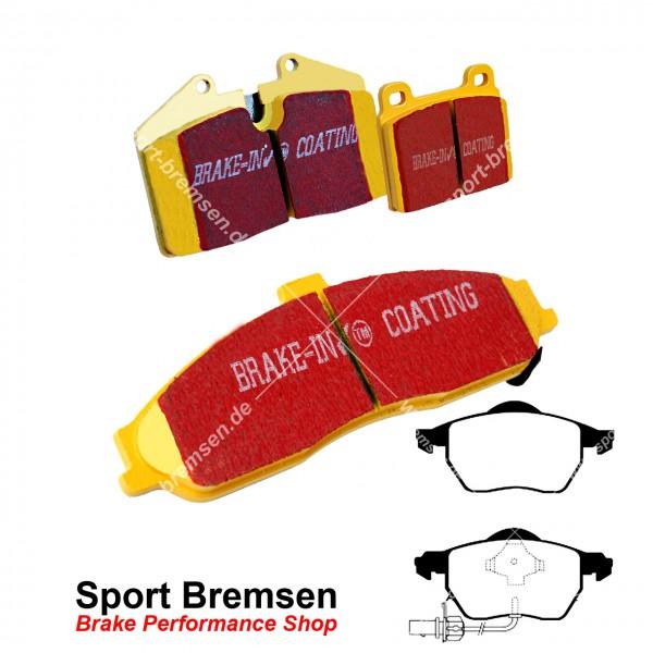 EBC Yellowstuff Bremsbeläge für Audi A6 (4B C5) 2.5 TDI (110-132kW) vorne