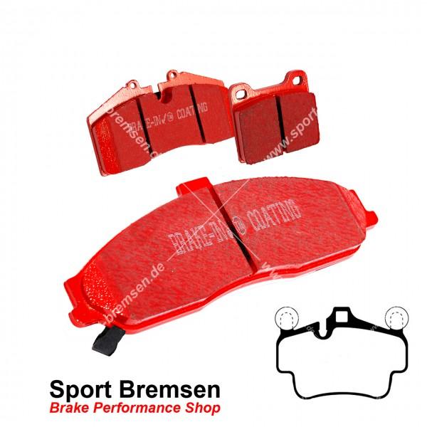 EBC Redstuff Keramik Bremsbeläge für Porsche Boxster 3.4S (987) 223kW 99735193905 vorne