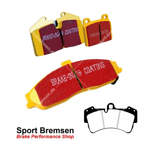 EBC Yellowstuff Bremsbeläge für Porsche Cayenne 4.8S (9PA) 283kW vorne