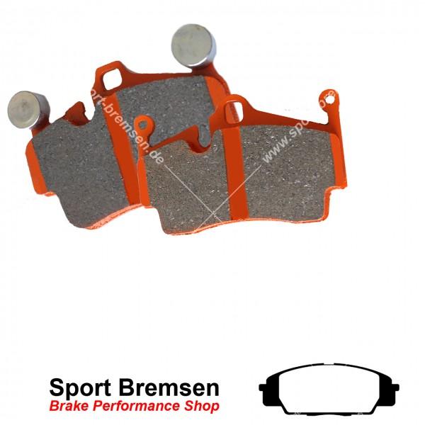 EBC Orangestuff Racing Bremsbeläge für Honda Civic VIII Type R (148kW) vorne