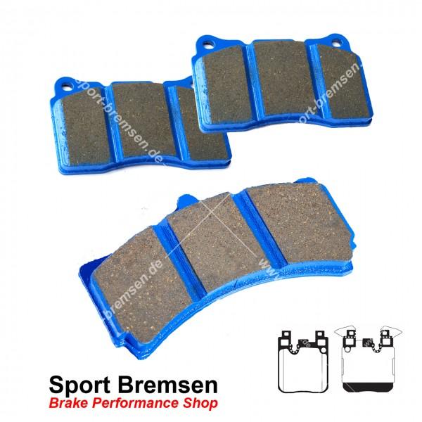 EBC Racing Bluestuff NDX Bremsbeläge für BMW M3 (F80) hinten