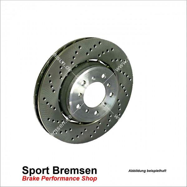 Original BMW Bremsscheibe für 1er M Coupé (e82) 34212283803 hinten links 350x24mm