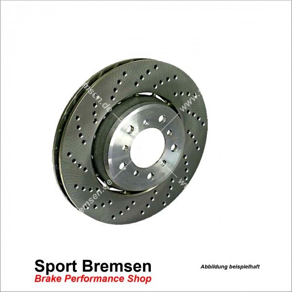 Original BMW Bremsscheibe für 1er M Coupé (e82) 34112283801 vorne links 360x30mm