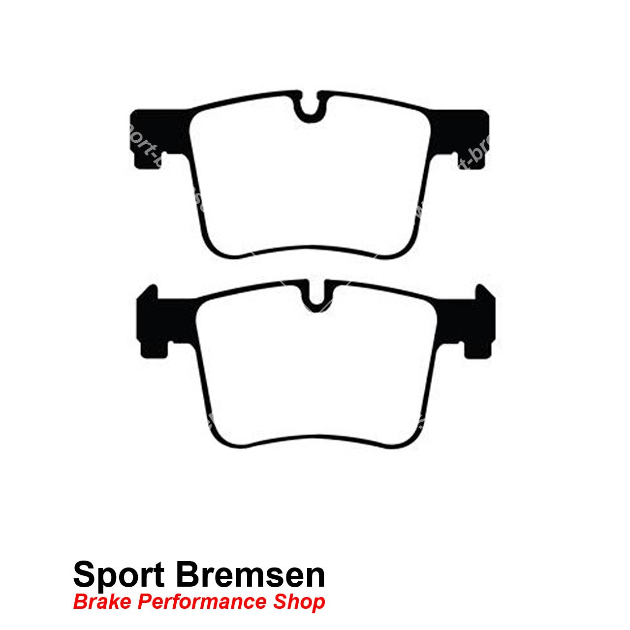 Vorderachse für BMW für BMW //DP42105R EBC Yellowstuff Sport-Bremsbeläge vorne