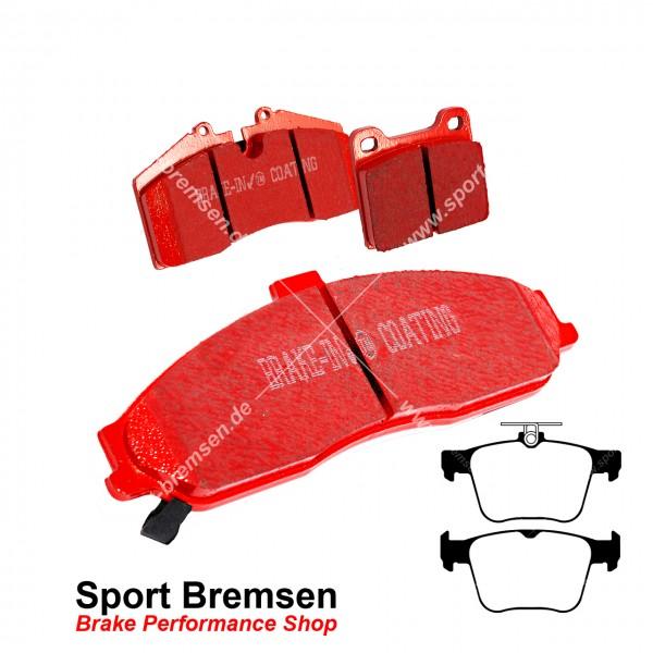EBC Redstuff Keramik Bremsbeläge für Seat Leon Cupra R SC 2.0 hinten