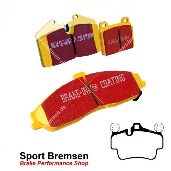 EBC Yellowstuff Bremsbeläge für Porsche 911 (997) 3.8S 4S 99735193905 hinten