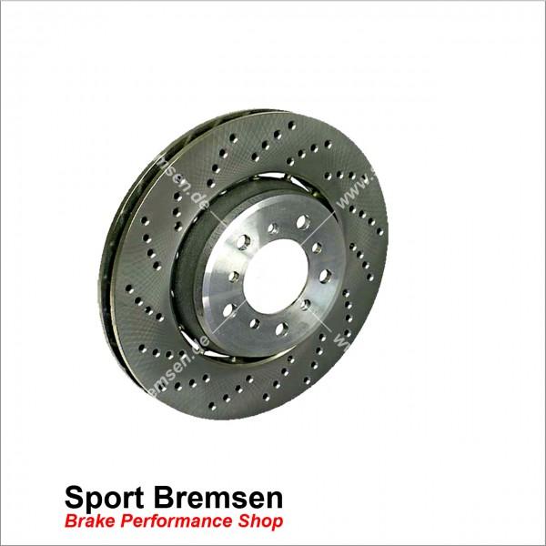 Original BMW Bremsscheibe 34112282801 BMW M3 e46 325x28mm vorne links