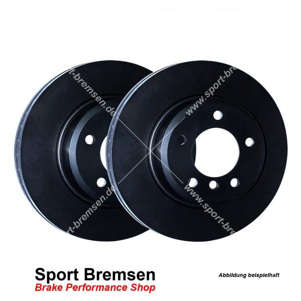 EBC Premium Bremsscheiben Set für Ford Focus III 2.0 ST vorne 320x25mm