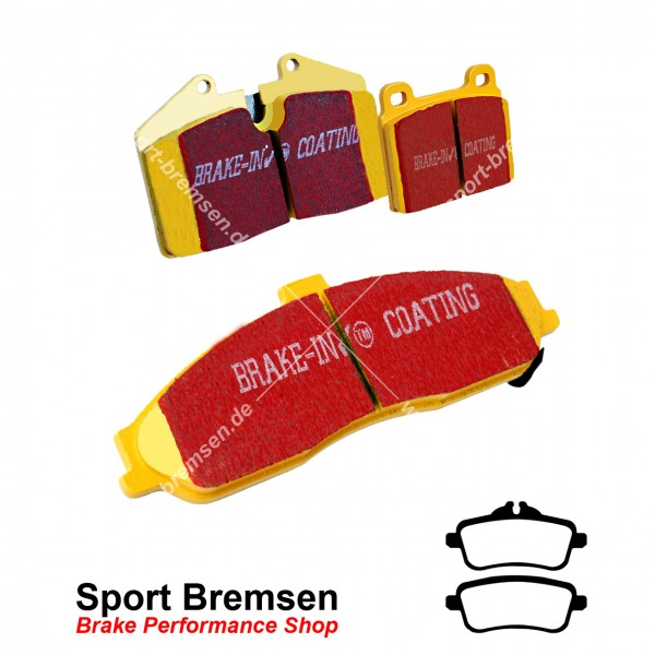 EBC Yellowstuff Bremsbeläge für Mercedes-Benz AMG A45 (W176) hinten