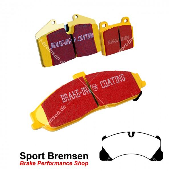 EBC Yellowstuff Bremsbeläge für Porsche Cayenne 3.6 GTS (92A) 95835193950 7P0698151C vorne