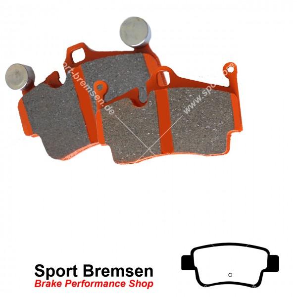 EBC Orangestuff Racing Bremsbeläge für Opel Corsa D 1.6 Turbo NRE hinten
