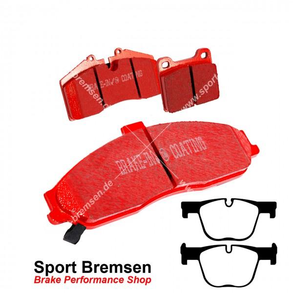 EBC Redstuff Keramik Bremsbeläge für BMW 4er 435dx (F32 F33) hinten
