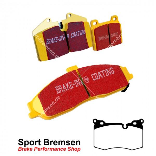 EBC Yellowstuff Bremsbeläge für Mini John Cooper Works (R56) 141-155kW vorne