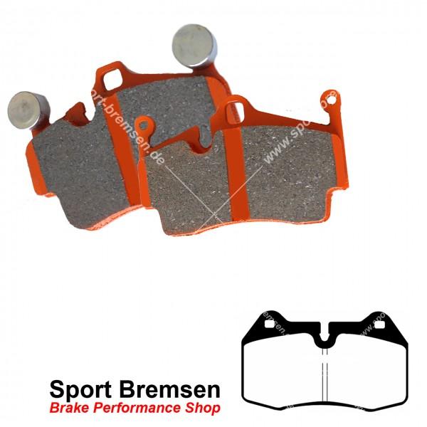 EBC Orangestuff Racing Bremsbeläge für Honda Integra 2.0 16V Brembo vorne