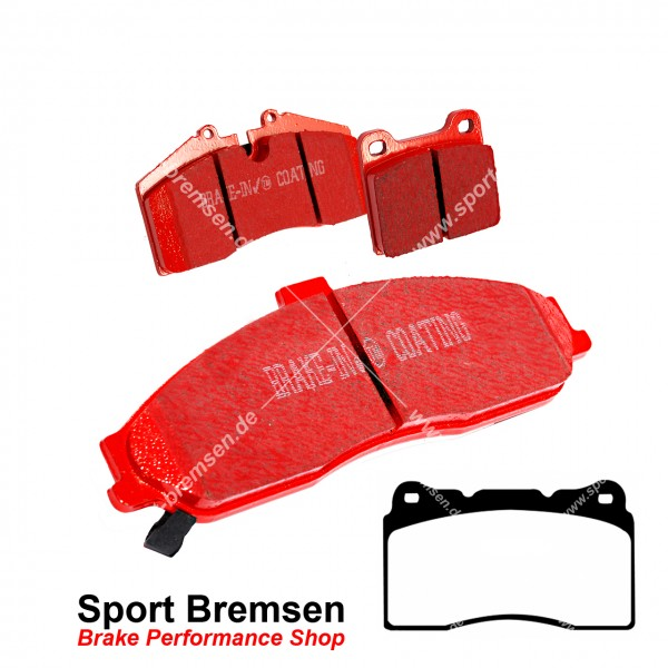 EBC Redstuff Keramik Bremsbeläge für Camaro 5 Brembo 6.2 V8 vorne