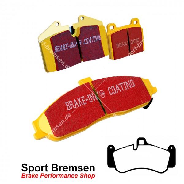 EBC Yellowstuff Bremsbeläge für Porsche 911 GT3 (996) 99735194701 vorne