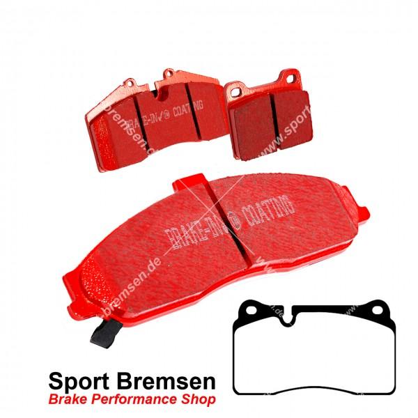 EBC Redstuff Keramik Bremsbeläge für Seat Leon Cupra 2.0 Brembo (5F1) vorne