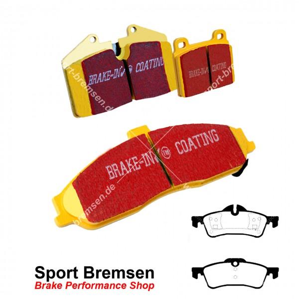 EBC Yellowstuff Bremsbeläge für Mini S Works (R50 R53) 149kW hinten