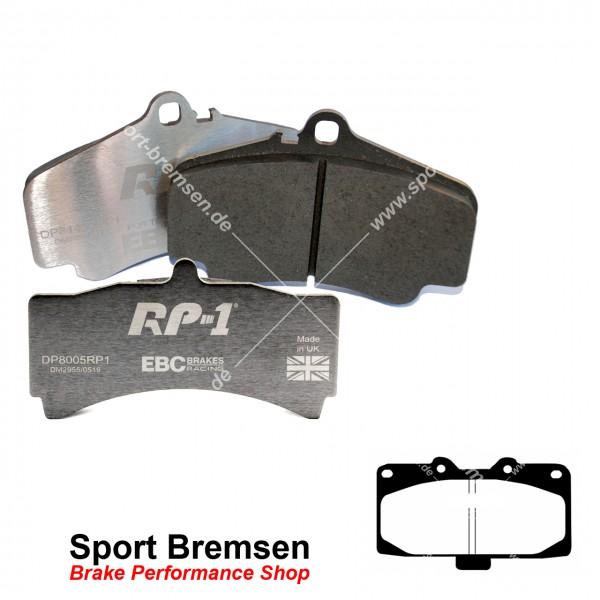 EBC RP-1 Racing Bremsbeläge für Nissan 300ZX 3.0 Twin Turbo (Z32) vorne