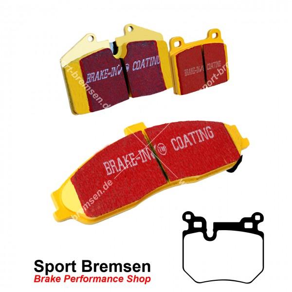 EBC Yellowstuff Bremsbeläge für BMW 1er 135i (e82 e88) M-Performance Bremse hinten