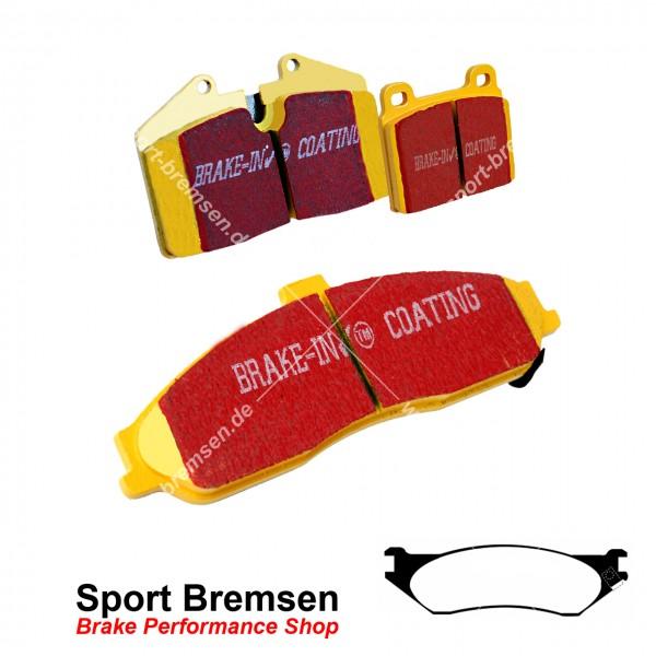 EBC Yellowstuff Bremsbeläge für Dodge RAM SRT 10 | 8.3 ab 2005 hinten