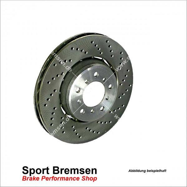 Original BMW Bremsscheibe für 3er M3 (e90 e92 e93) 34212283804 hinten rechts 350x24mm