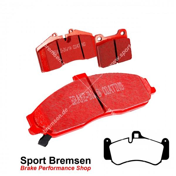 EBC Redstuff Keramik Bremsbeläge für Porsche 911 GT3 (996) 99735194701 vorne