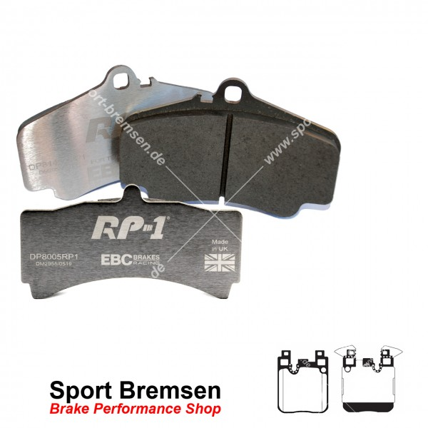 EBC RP-1 Racing Bremsbeläge für BMW 2er M235i (F22 F23) hinten