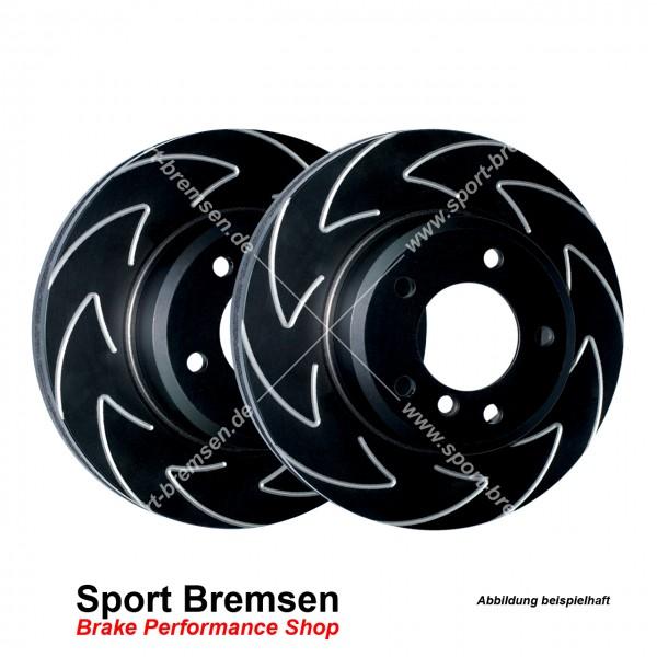 EBC High Carbon Sport Bremsscheiben für VW Polo GTI Cup Edition hinten 233x9mm