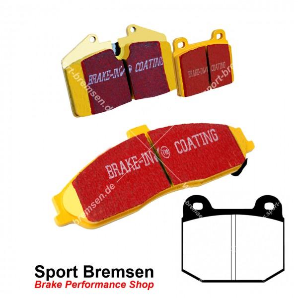 EBC Yellowstuff Bremsbeläge für Opel Speedster 2.0 Turbo vorne